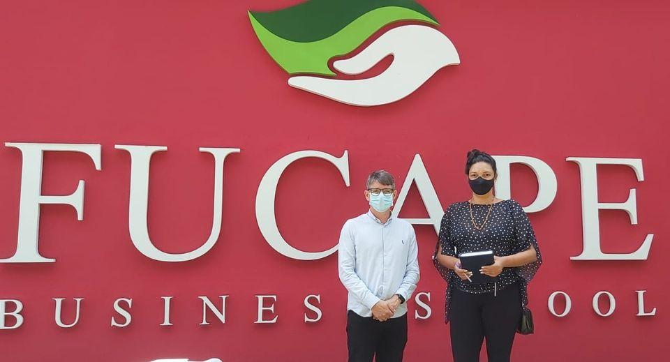 Reunião na FUCAPE Business School