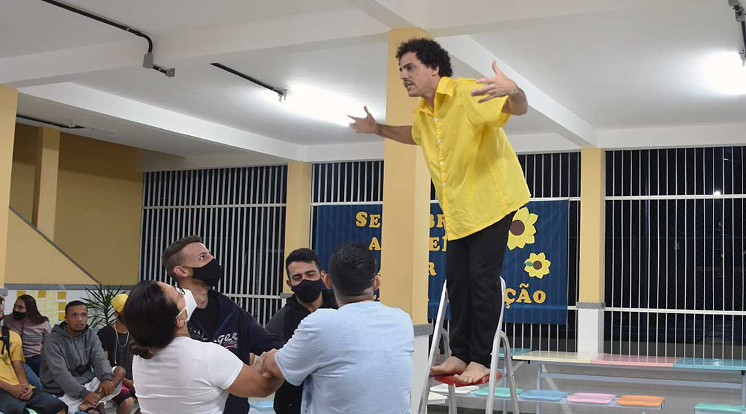 Setembro Amarelo e Dia Nacional do Teatro