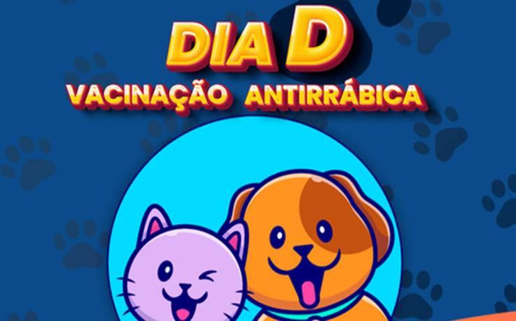 Dia D Vacinação Antirrábica